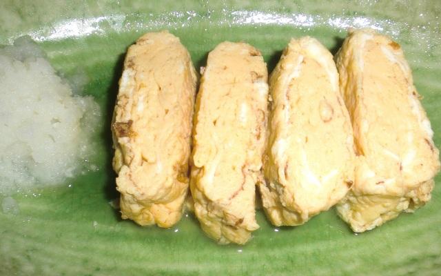 蜂蜜レシピ ダシ巻き卵