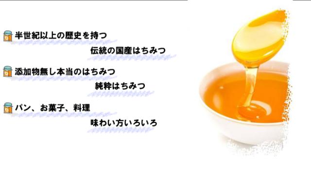 ハチミツ紹介